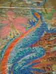 Detail of Hidden Garden Steps mosaic