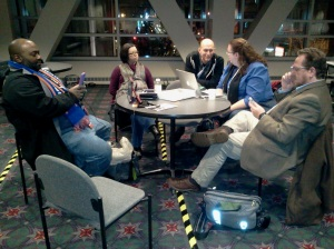 Informal learning in the ALA 2014 Midwinter meeting Networking Uncommons