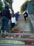 The Steps as venue for exercise