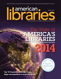 "Cover photo from ""American Libraries"""