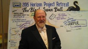 NMC CEO Larry Johnson at the Black Swan Ball
