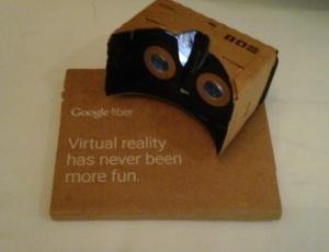 Augmented reality via Google Cardboard