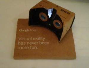 Augmented reality via Google Cardboard